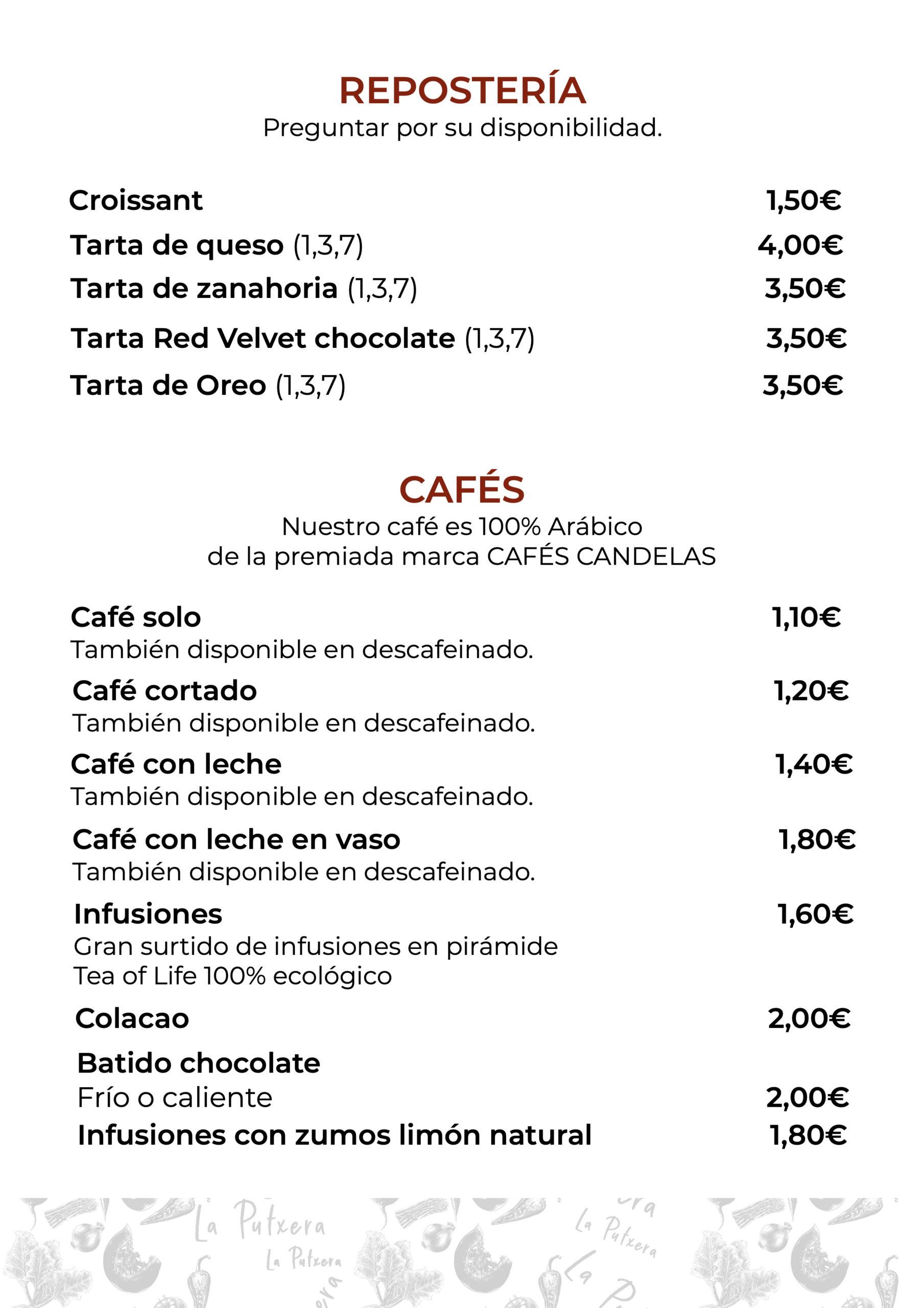reposteria y cafes
